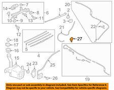 SUBARU OEM 14-15 XV Crosstrek-Winshield Hood Nozzle Left 86636FJ040