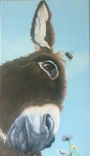 More details for donkey canvas print, paintings, gift, art, picture