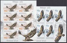 ABKHAZIA  2019 EUROPA CEPT NATIONAL BIRDS .SET 2 MS  MNH   not dental