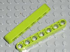 LEGO Technic lime Beam 7 ref 32524 / set 42054 8190 8256 8899 7065 42021 42027..