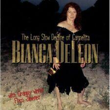 Long Slow Decline Of Carmelita - Bianca De Leon (2005, CD NIEUW)