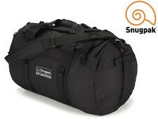 Snugpak KIT MONSTER 120 Deployment Bag, Duffle, Holdall or Backpack BLACK LARGE