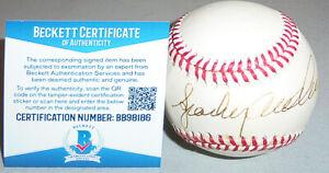 -HOF- 1990's -Sparky Anderson- BAS Signed/Autograph/Auto Coleman ONL Baseball