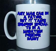 El hombre puede ser un padre alguien especial para ser un Pinscher Miniatura papá Impreso taza