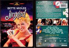 DVD Bette Midler JINXED Rip Torn Ken Wahl Don Siegal Vegas comedy WS+FS OOP R1