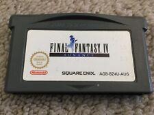 GameBoy Advance game - Final Fantasy IV / 4 - Aus Release