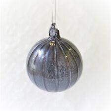 Weihnachtskugel Christbaumschmuck Weihnachten Light & Living 10 blau Glas 696629