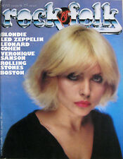 ROCK FOLK 153 1979 Blondie Led Zeppelin Rolling Stones Leonard Cohen Tom Scholz