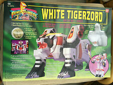 Power rangers  deluxe White tigerzord megazord Not Legacy MISB NEW RARE