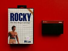 ROCKY Sega Master System 1 I ARCADE Spiel OVP Game CIB Box Two MEGA Cartridge MS