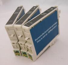 Ink Cartridge for Epson Stylus CX3600 CX4600 CX6400 CX6600 C86 T0441 Black 3PK