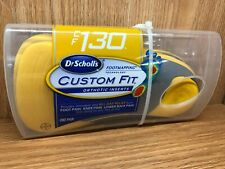 Dr. Scholl's Custom Fit Cf130 Orthotic Inserts 1 Pair