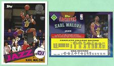 KARL MALONE GOLD TOPPS ARCHIVES RC # 66 - HALL OF FAME - UTAH JAZZ FORWARD