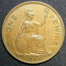 1940 Great Britain 1 Penny Coin