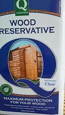Premier Q Wood preservativ 5L Clear  paint  solvent oil based stain