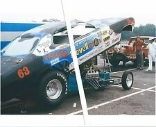 """1970s Drag Racing-Ed McCulloch's Dodge Demon-Funny Car-""""Revellution!"""""""