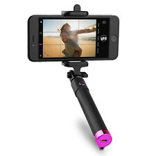 Circuit City Wireless Bluetooth Selfie Stick w Remote Control Extending Handle