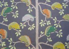 Harlequin/Scion Fabric 'CALMER CHAMELEON' 2.5 METRES 250cm Moss/Citrus/Charcoal