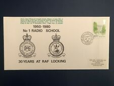 Great Britain, 1980 RAF Locking No 1 Radio School Flown And Signed Cover