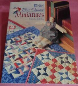 Quilting Bias Squares Miniatures Christine Carlson