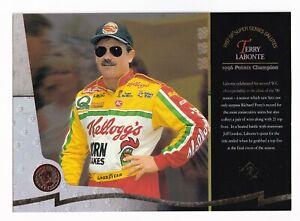 1997 SP 1996 POINTS CHAMPION JUMBO Terry Labonte SUPER SERIES CHECKLIST on back!