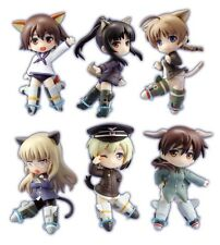 Chara Ani Toys Works Collection Strike Witches Type-A Bex set of 6 from Japan
