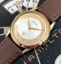Vintage 1960s Mans Hamilton Wristwatch Fully Serviced W/ 1 YEAR WARRANTY