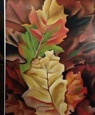 Autumn Leaves By Georgia O'Keeffee