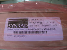 SYNRAD DC-1 LASER POWER SUPPLY ASTEC LPS 255