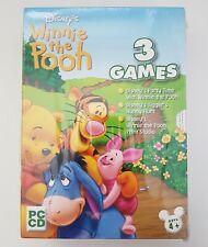 Winnie the Pooh 3 Games Box Set - Creativity, Honey Hunt, Party Time - PC - NEW