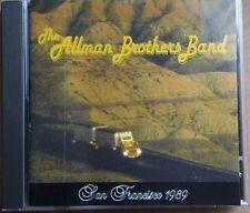 The Allman Brothers Band – San Francisco 1989 rare import silver cd 1993