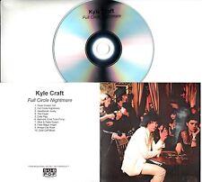 KYLE CRAFT Full Circle Nightmare 2018 UK 10-trk promo test CD