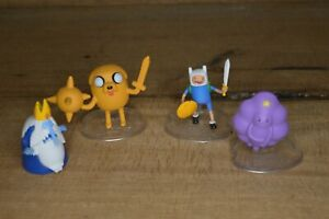 Adventure time figurine lot of 4 figures