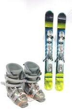 SNOWBLADE PACKAGE, New 99cm FiveForty Ski Blades, Used Ski Bindings, bootsFITTED