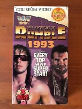 WWF Royal Rumble 1993 Coliseum Video 93 VHS Featuring Top Superstars WWE WCW
