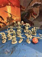 Reaper Bones Black Kickstarter 4 Lost Valley Lot 17 Miniatures