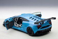 Autoart 2013 Lamborghini Gallardo GT3 FL2 Azul Oscuro Compuesto Modelo 1/18