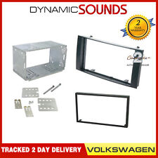 CT23VW04A CD Stereo Double Din Fascia Panel For Volkswagen Touareg California