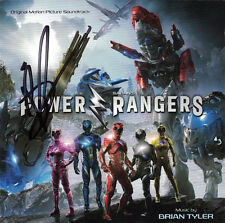 POWER RANGERS (2017) Brian Tyler SOUNDTRACK Score CD Signed AUTOGRAPHED Mint NEW