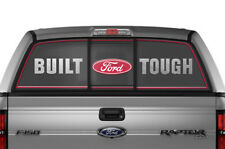 Ford F150 F 150 Window Vision Graphics Vinyl Sticker Decal 2009-2014 BFT RED