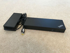 LENOVO THINKPAD THUNDERBOLT 3 DOCK GEN 2 40AN DOCKING STATION 135W POWER TESTED