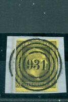 Preussen, Friedrich Wilhelm IV., Nr. 4 Stempel 931