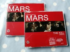 30 Seconds To Mars The Kill (Bury Me) /Live 4 Track 2 CD Set + Poster