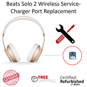 SERVICE REPAIR Beats by Dr. Dre Solo 2 2.0 Wireless Charger Port Replacement