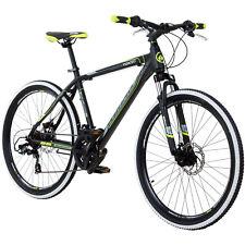 MTB 26 Zoll Bike Mountainbike Fahrrad Galano Toxic 46 cm Schwarz / Grün B-Ware