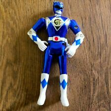 "Mighty Morphin Power Rangers The Movie Metallic Blue ranger vintage Figure 5"""