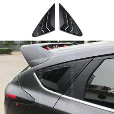 Rear Quarter Panel Window Side Louvers Vent trim Fit for Ford Focus Hatchback 4D