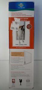 NEW PetSafe Sliding Glass Door Pet Medium Size Dog Cat Insert White PPA11-14767