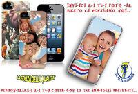 CUSTODIA COVER PERSONALIZZATA CON LA TUA FOTO per SAMSUNG GALAXY S6 EDGE SM G925