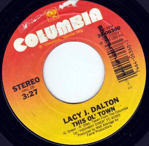 "Lacy J Dalton - This Ol' Town 7"" 45"